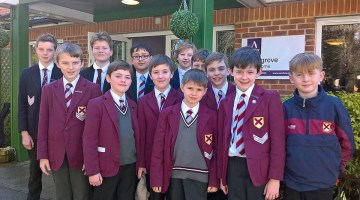 Cranmore+school+council+visit+to+local+care+home