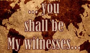 Image result for always a witness to Jesus