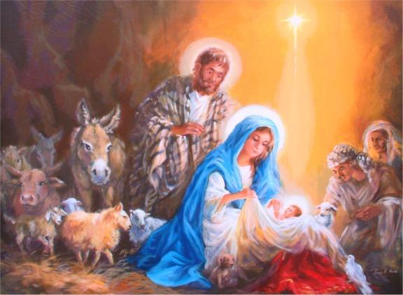Image result for manger scene