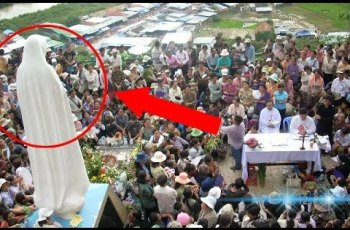 Virgin Mary Caught On Camera