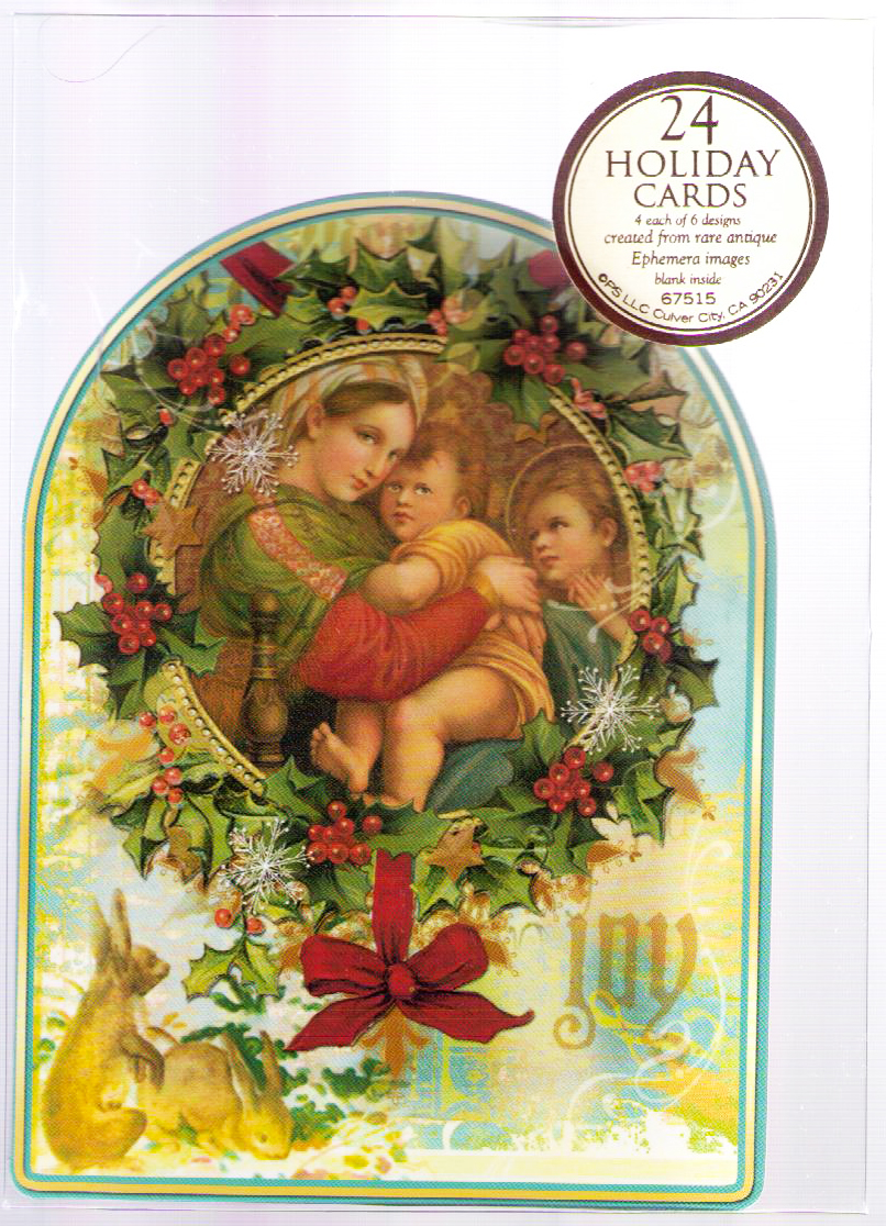 Tuesday Morning Sells Religious Christmas Cards