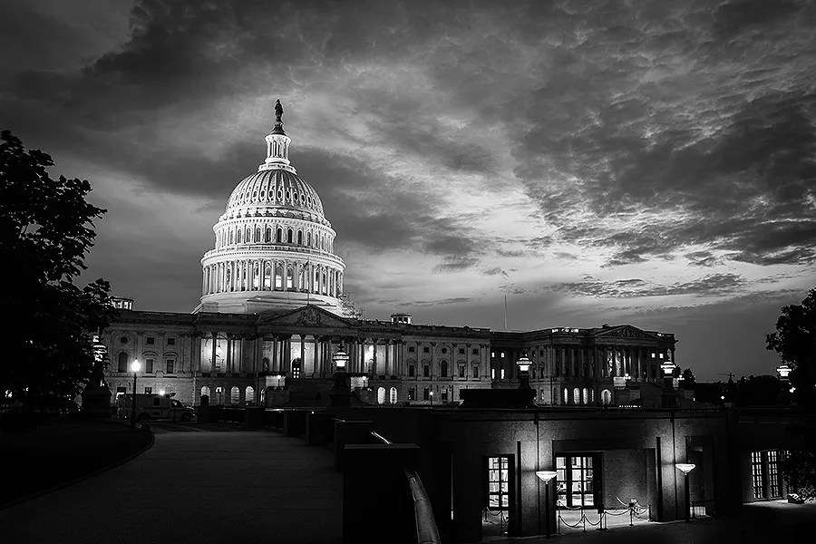 The US capitol building. Credit: Orhan Cam/Shutterstock.