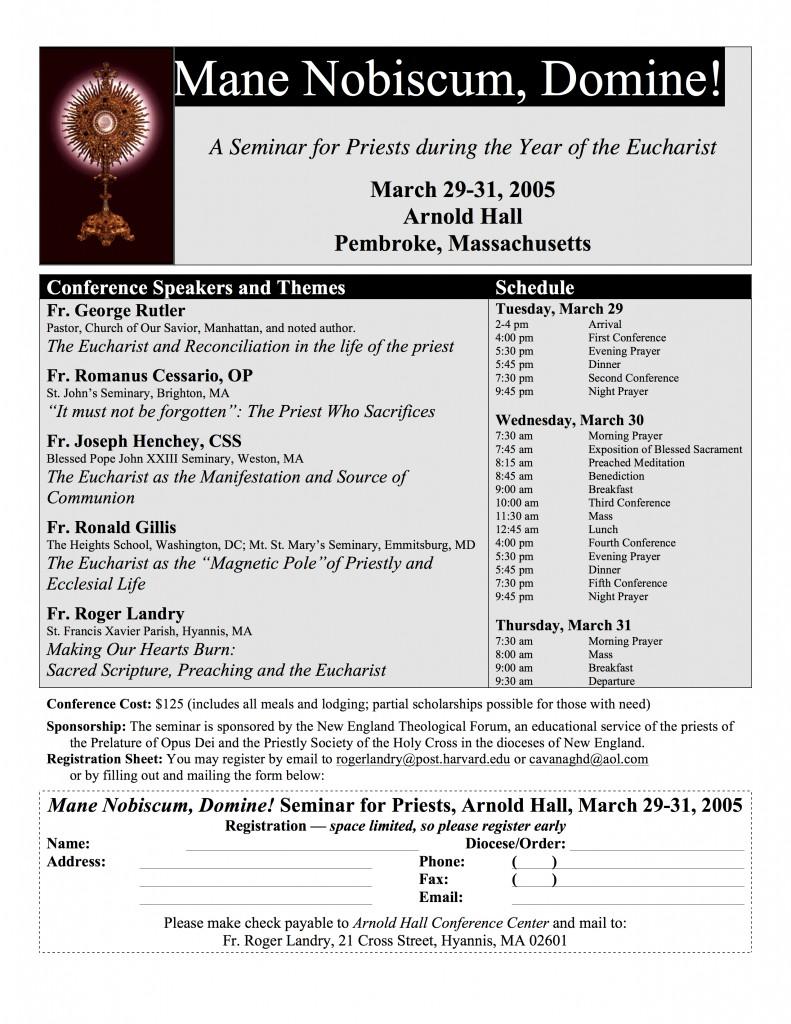 2005 Seminar Poster copy