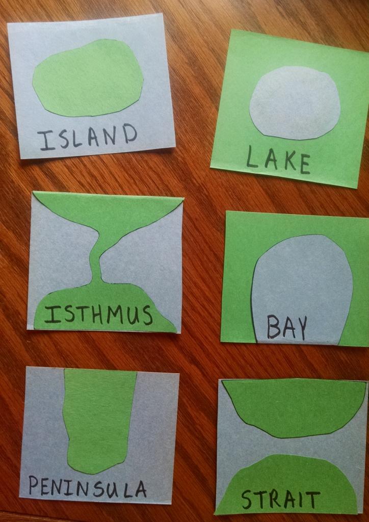 Catholic Schoolhouse Water Geography Book Y1 W3