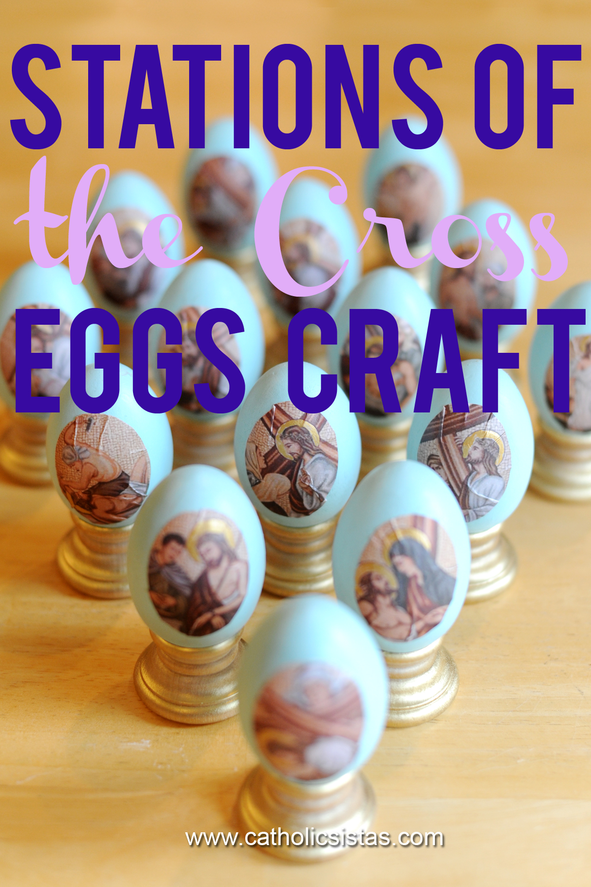 Stations Of The Cross Easter Eggs