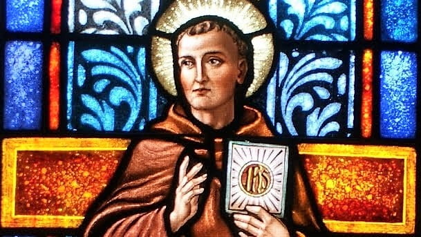 May 20: SAINT BERNARDINE OF SIENA,  Priest.  The name of Jesus is the glory of preachers