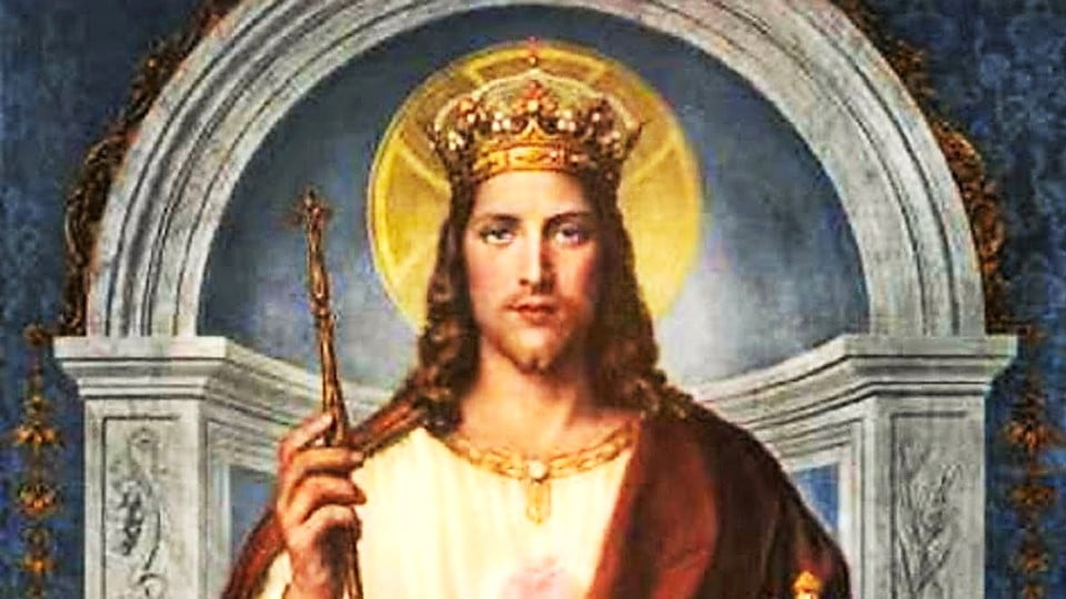 LET'S PREPARE FOR THE SOLEMNITY OF OUR LORD JESUS CHRIST, THE KING OF THE UNIVERSE