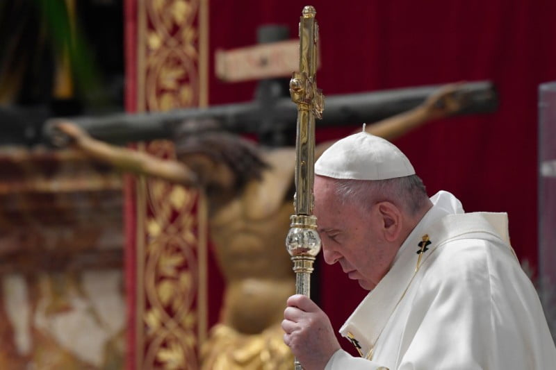 "POPE FRANCIS: ""THERE IS NO TRUE LOVE WITHOUT THE CROSS."""