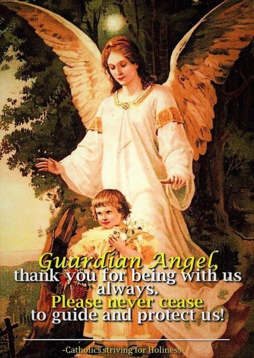 ST. JOSEMARIA ON THE HOLY GUARDIAN ANGELS FOR YOUR PERSONAL PRAYER. 2