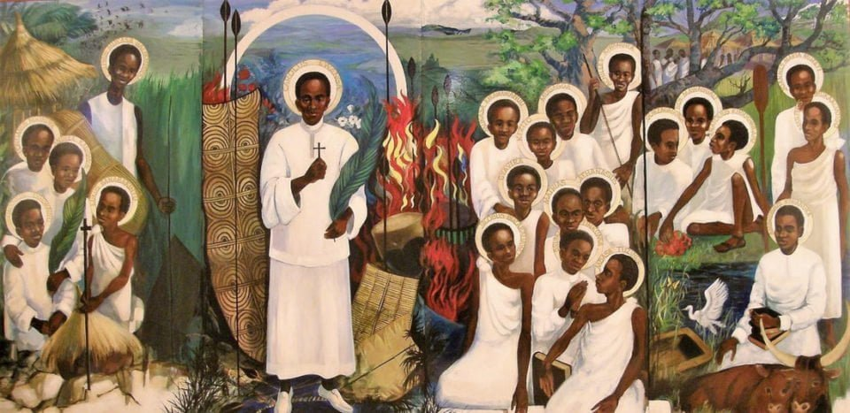 June 3: SAINTS CHARLES LWANGA AND COMPANIONS, MARTYRS OF UGANDA.