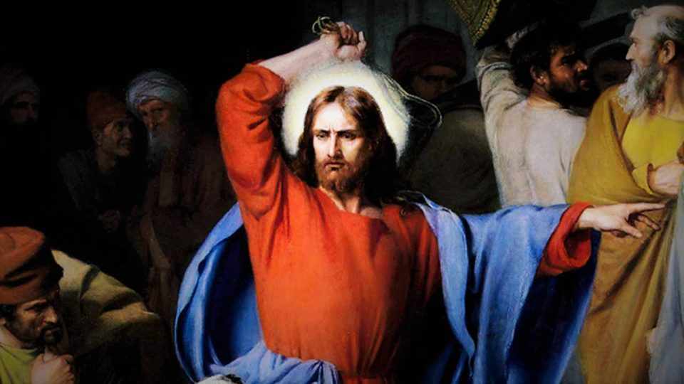 """DAILY GOSPEL, REFLECTION AND HOLY MASS: """"MY HOUSE SHALL BE A HOUSE OF PRAYER"""" (Lk 19:45–48)."""