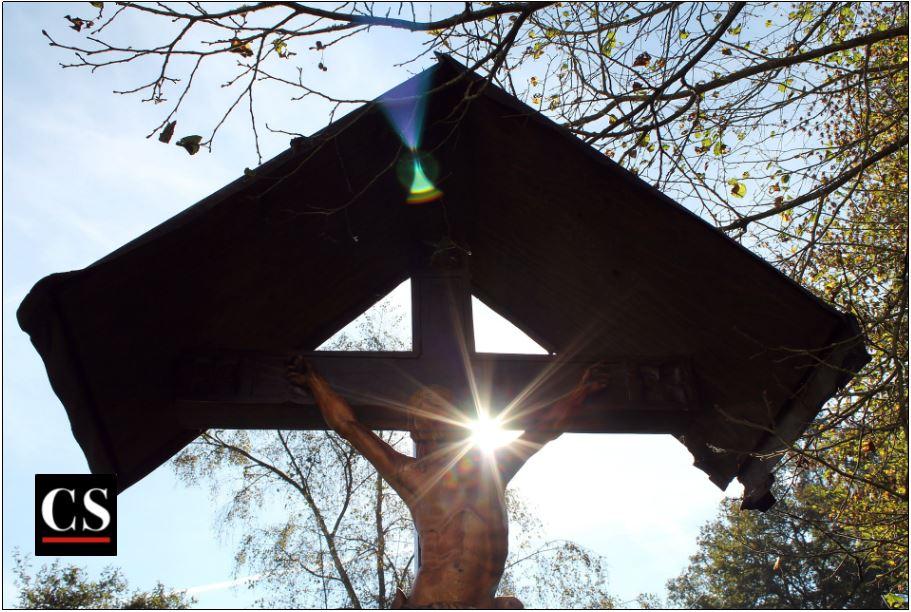 crucifix shrine