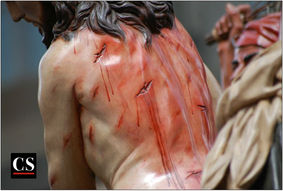jesus, scourging, lent, good friday