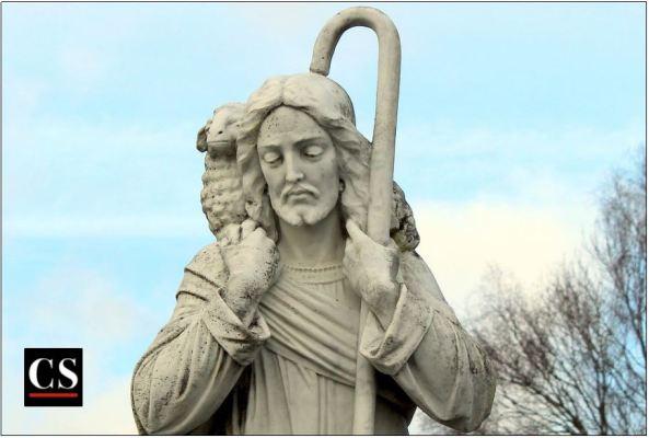 good shepherd, jesus, sheep