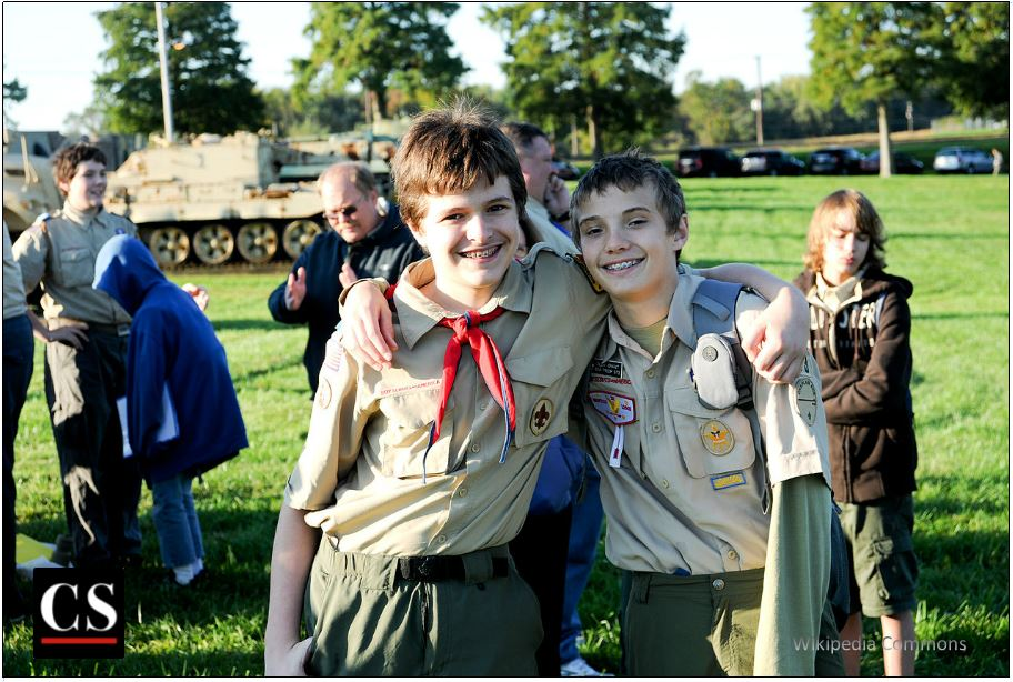 boy scouts, masculinity, virtue