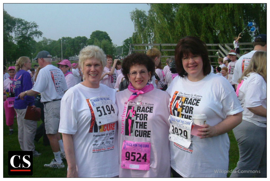 komen, breast cancer, race for the cure