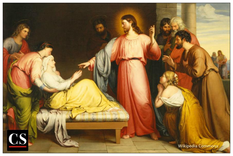 Jesus's healing miracles