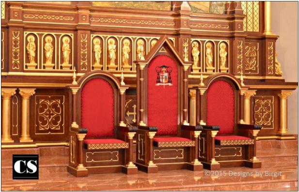 Birgit - presiders chairs