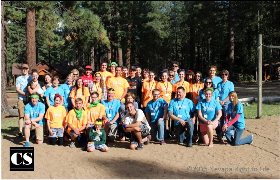camp joshua, nevada right to life, prolife, pro-life, abortion, respect life, youth