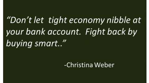 Christina Weber - Tough Economy