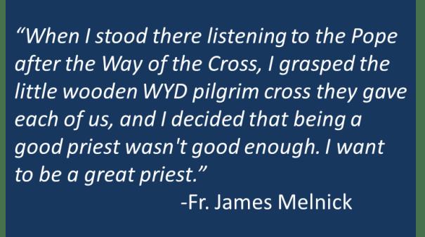 Fr. James Melnick - Priestly Holiness