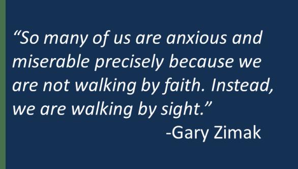 Gary Zimak - Fear to Faith