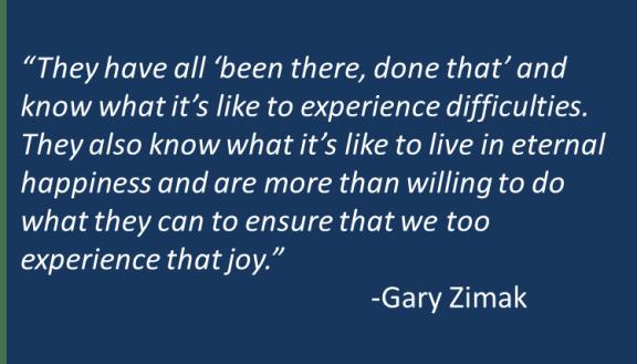 Gary Zimak - Saints for Worriers