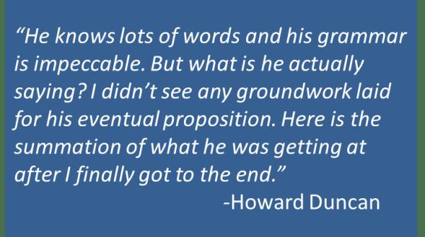Howard Duncan - Bottum