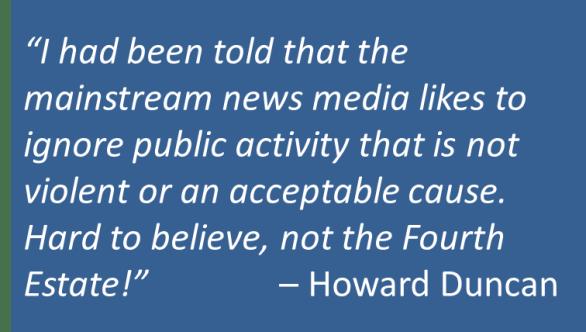 Howard Duncan - Christians Ignored