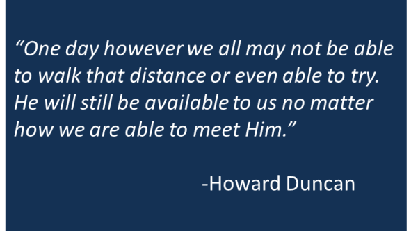 Howard Duncan - Friend and Eucharist