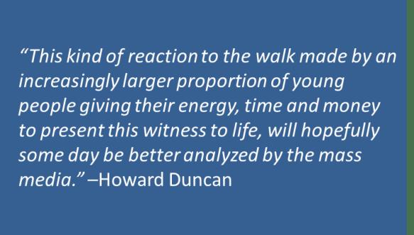 Howard Duncan - WC Walk for Life
