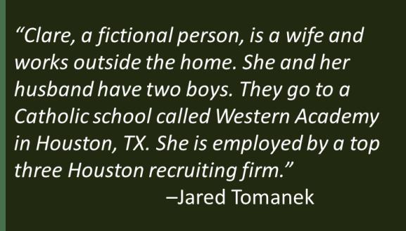 Jared Tomanek - Clare
