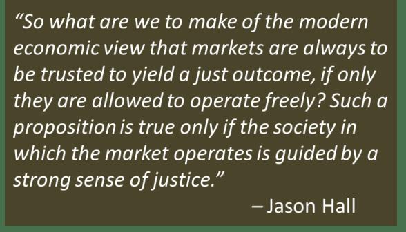 Jason Hall - Charity, Justice
