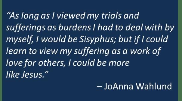JoAnna Wahlund - Sisyphus
