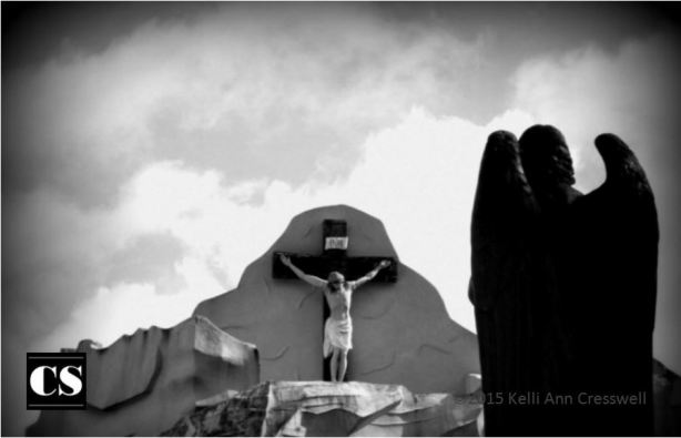 Kelli Ann - outdoor crucifix