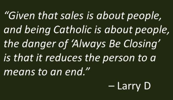 LarryD - Always be Catholic