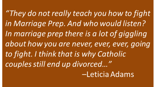Leticia Adams - Marriage Prep