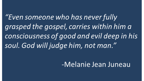 Melanie Jean Juneau - Atheists and Redemption