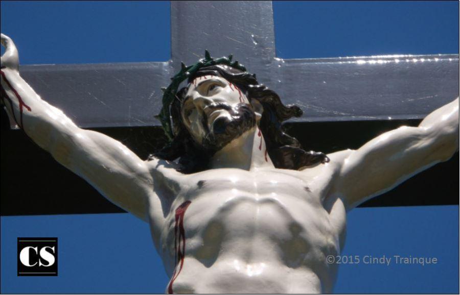christ, jesus, crucified, crucifixion, salvation, sacrifice, gossip