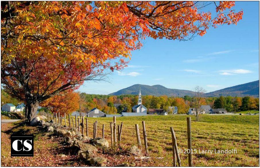 church, fall, seasons