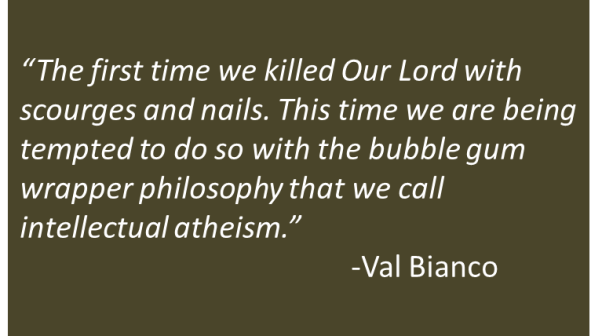 Val Bianco - Wager About Satan