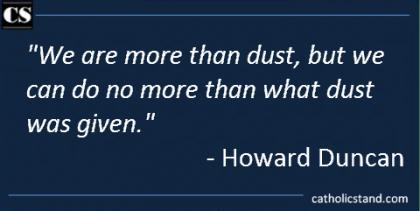 howard ducan dust