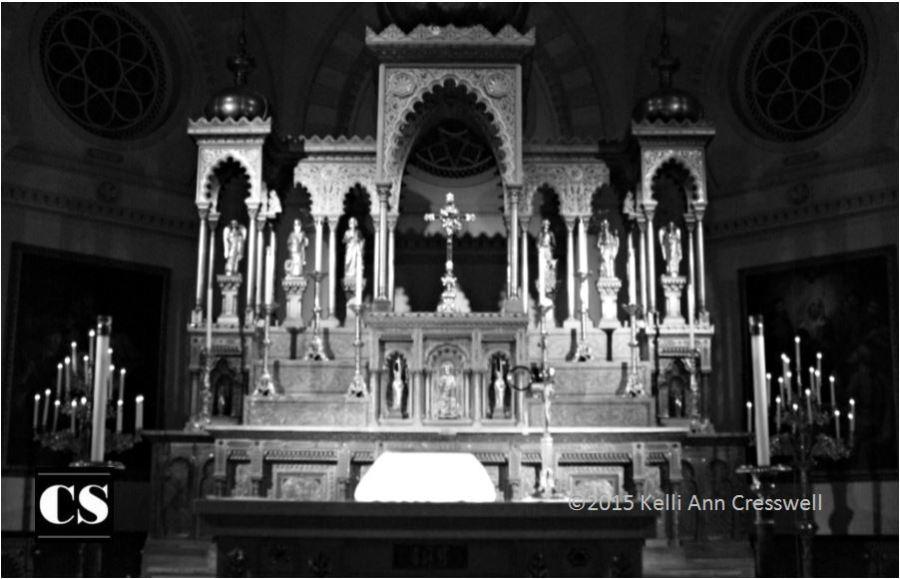 altar, mass, sacrific