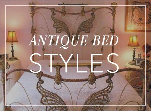 Antique Iron Beds Victorian Vintage Bed Frames