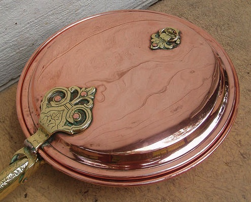 Antique Copper Bed Warmer Cathouse Antique Iron Beds