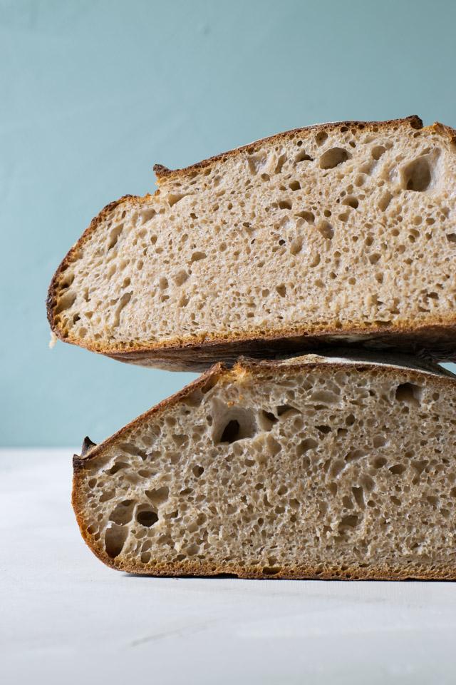 Grydebrød – surdejsbrød bagt i gryde – Cathrine Brandt