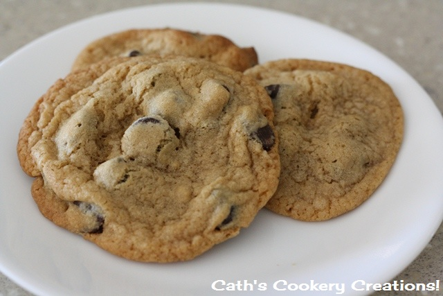 Ultimate Chocolate Chip Cookie from Cath's Cookery Creations   www.cathscookerycreations.com