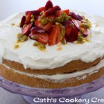 Pastel de Tres Leches (Three Milk Cake) from Cath's Cookery Creations! | www.cathscookerycreations.com