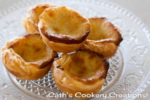 Portugese Tarts from Cath's Cookery Creations! | www.cathscookerycreations.com
