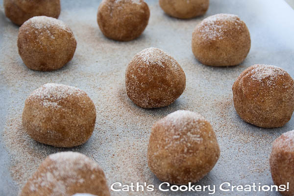 Snickerdoodles from Cath's Cookery Creations! | www.cathscookerycreations.com